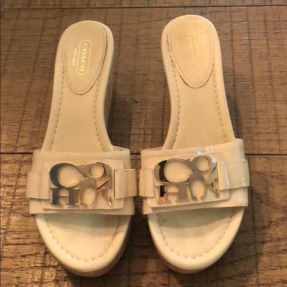 Coach Shoes - Coach platform sandals